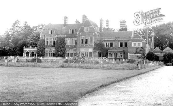 Sherfield On Loddon, North Foreland Lodge c.1955