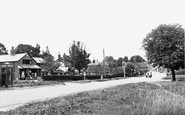 Sherfield on Loddon, the Village c1955