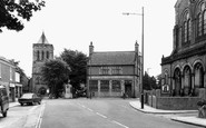 Shildon, St John's Church c1965