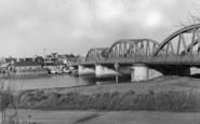 Shoreham-By-Sea, Norfolk Bridge c.1950