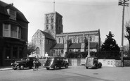 Shoreham-By-Sea, St Mary's Church c.1950