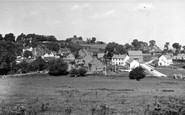 Shorne, View Of Swillers Close c.1955