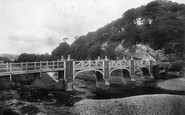 Sidmouth, Alma Bridge 1904