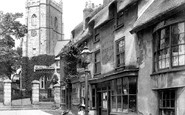 Sidmouth, Church Street 1906