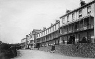 Sidmouth, Footfield Terrace 1895