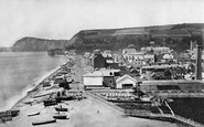 Sidmouth, From Alma Hill c.1874