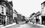 Sidmouth, High Street 1906