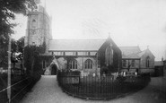 Sidmouth, Parish Church Of St Giles 1895