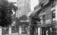Sidmouth, Parish Church Of St Giles 1904