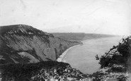 Sidmouth, Peak Rock 1906