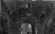 Sissinghurst, Entrance to the Castle c1955