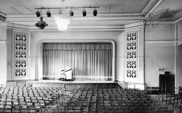 Skegness, Derbyshire Miners Welfare Holiday Centre, Dance Hall c.1955