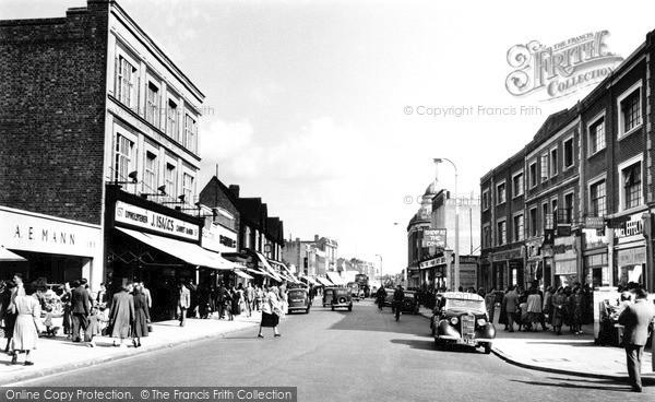 Slough, High Street 1950