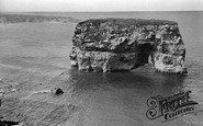 South Shields, Marsden Rock c.1955