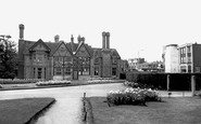 Southall, the Manor House 1965