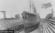 Southampton, No5 (Prince Of Wales) Dry Dock 1908