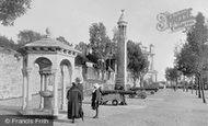 Southampton, The 'stella' Memorial And Pilgrim Fathers' Memorial, Western Esplanade 1924