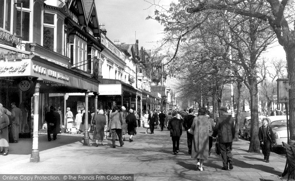 Southport Lord Street C 1960 Francis Frith