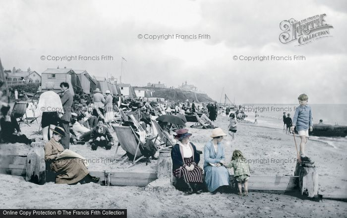 Southwold, The Beach 1919