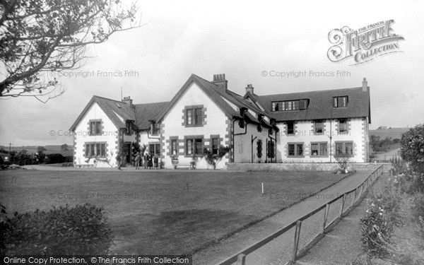 St Abbs, Haven Hotel c.1935