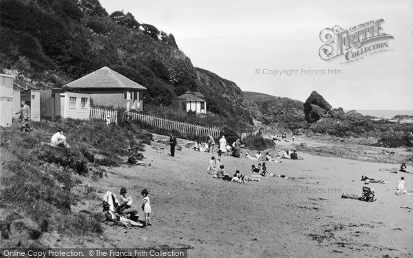 St Abbs, Sands Bay c.1935
