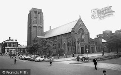 St Helens, the Parish Church c1965