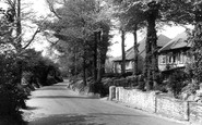 St Mary Cray, Chelsfield Lane c1955