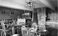 St Neots, the Restuarant interior c1965