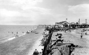 St Osyth, the Beach c1965
