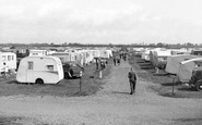 St Osyth, the Caravan Camp c1955