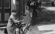 St Peters, A Delivery Bicycle 1912