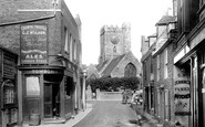 St Peters, The Church Of St Peter-In-Thanet 1897