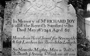 St Peters, The Kentish Samsons Tomb 1908