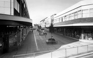 Stafford, the Shopping Centre c1965