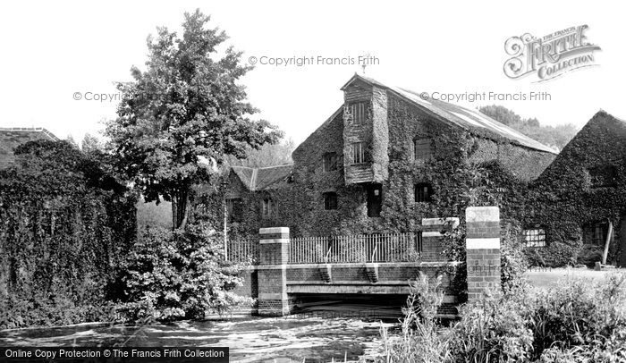 Photo of Stanwell Moor, the Old Mill c1955