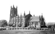 Stockport, St Mary's Church c.1965