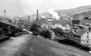 Stocksbridge, from the Clock Tower c1955