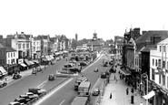 Stockton-On-Tees, High Street c.1955