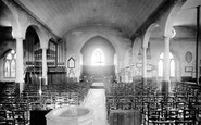 Stoke Damerel, Church Interior 1890
