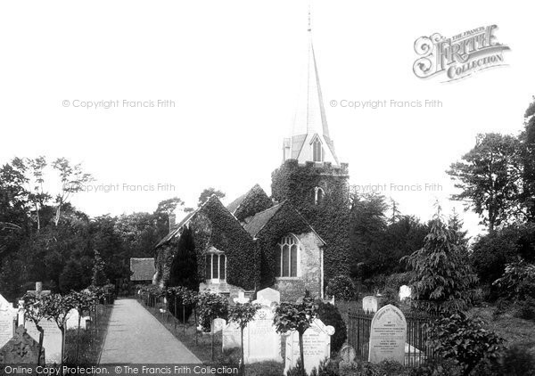 Stoke Poges, St Giles' Church 1895