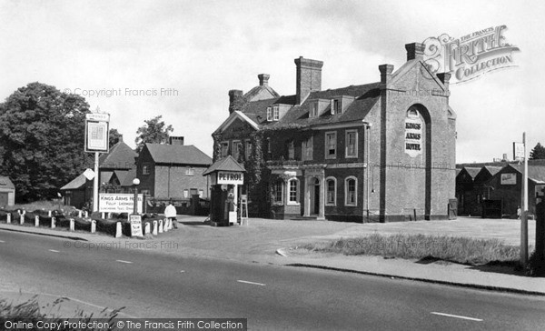 Stokenchurch The King S Arms Hotel C 1955 Francis Frith