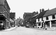 Stowmarket, Bury Street c.1950