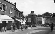 Stowmarket, Bury Street c.1955