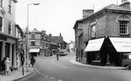 Stowmarket, Bury Street c.1960