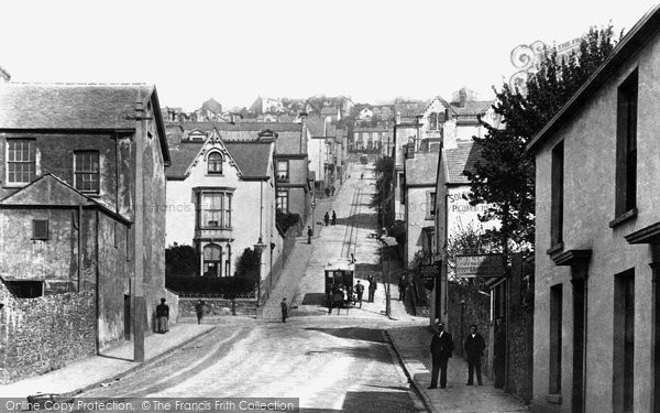 Photo of Swansea, Cliff Tram, Constitution Hill 1898
