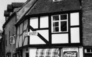 Tewkesbury, Abbey Stores c.1955