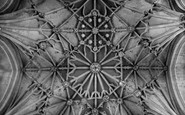 Tewkesbury, Abbey, The Chancel Roof c.1955
