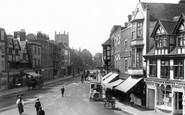Tewkesbury, Church Street 1907