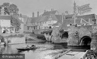 Tewkesbury, King John's Bridge 1907