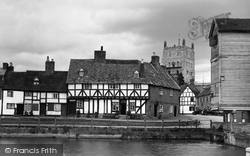 Tewkesbury, Mill Bank 1938